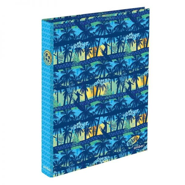 A4 Ringbinder 2 Rings Wave