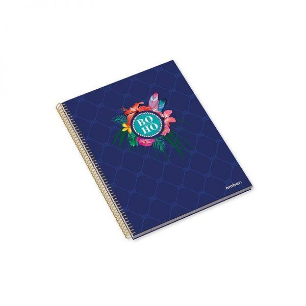 A5 Hardcover Sp Bk 120sh Boho Chic Lin