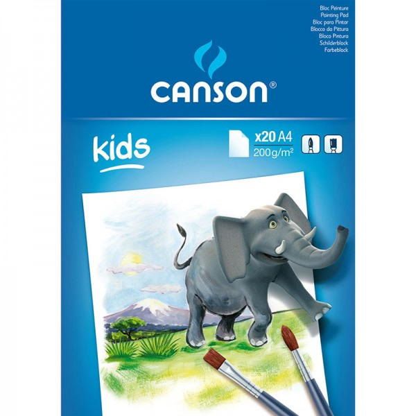 PAD CANSON ACADEMY 20 S A4 200G