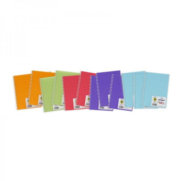 ART NOTE BOOK A5 ASST COLOR (blue.violet.pink.green.orange)