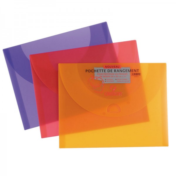 FOLD CANSON 27X35 POLYPRO FUNNY ASST COLOR