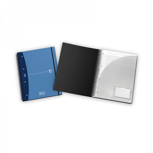 NOTEBOOK MOVEBOOK POLYPRO 230X297 160 PAGES 90G Q5/5 URBAN MIX