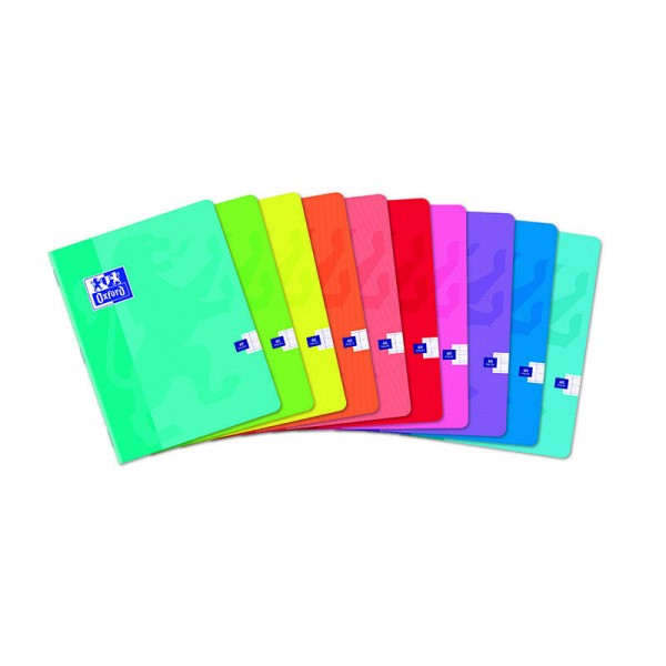 CAHIER OXFORD SCOLAIRE AGRAFE 170x220 48 PAGES 90G SEYES