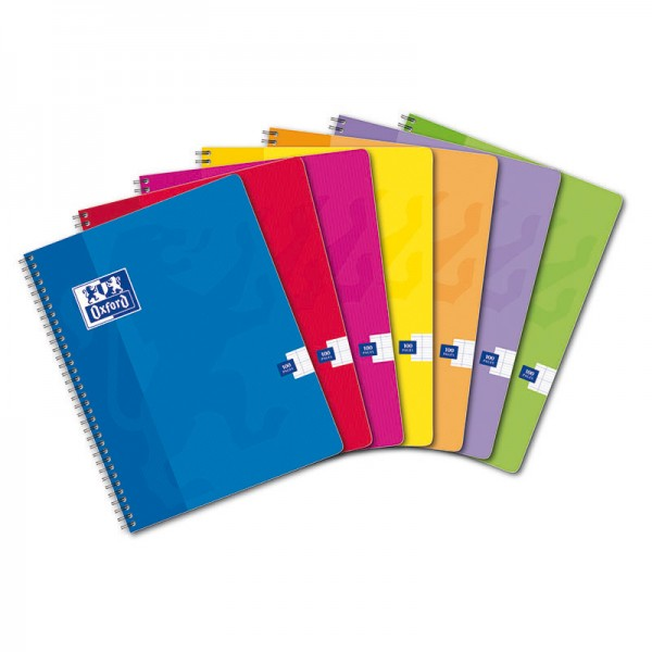 CAHIER OXFORD SCOLAIRE.INT.170X220 100 PAGES 90G SEYES