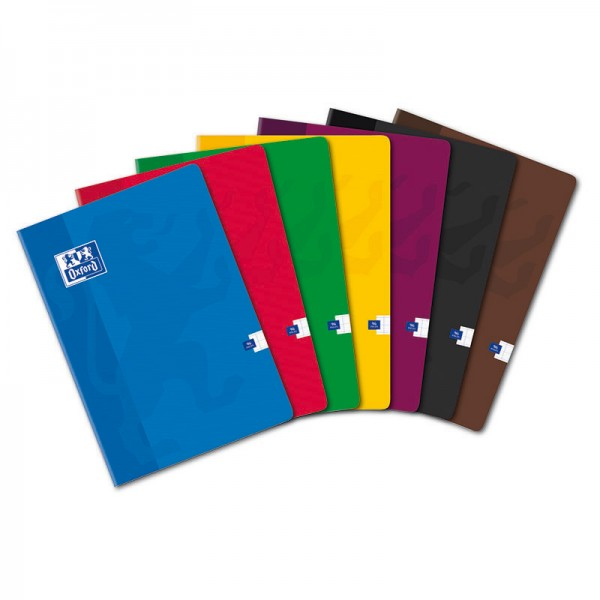 CAHIER OXFORD SCOLAIRE AGRAFE 210X297 96 PAGES 90G SEYES