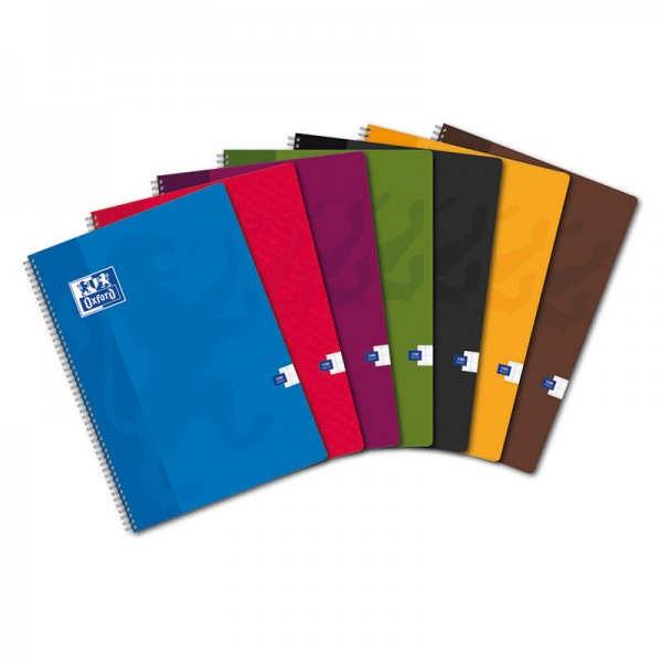 CAHIER OXFORD SCOLAIRE.RELIURE INTEGRALE 210X297 100 PAGES 90G SEYES