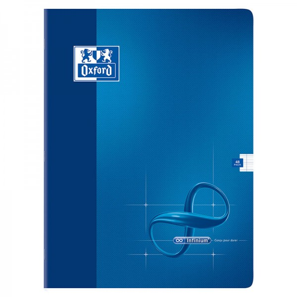 CAHIER INFINIUM AGRAFE 240x320 48 PAGES 90G SEYES
