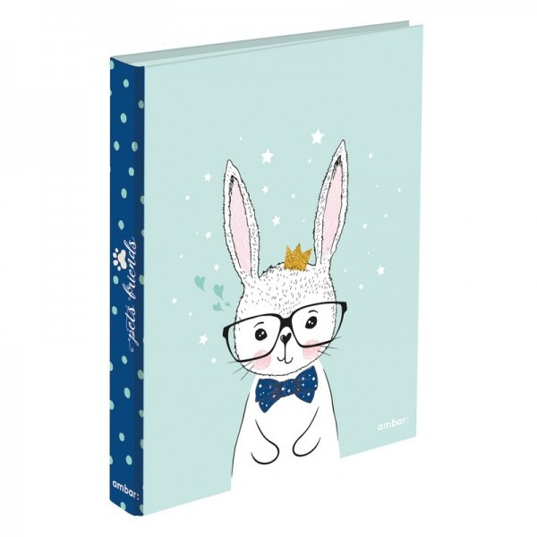 A4 Ringbinder 2 Rings Pets Friends