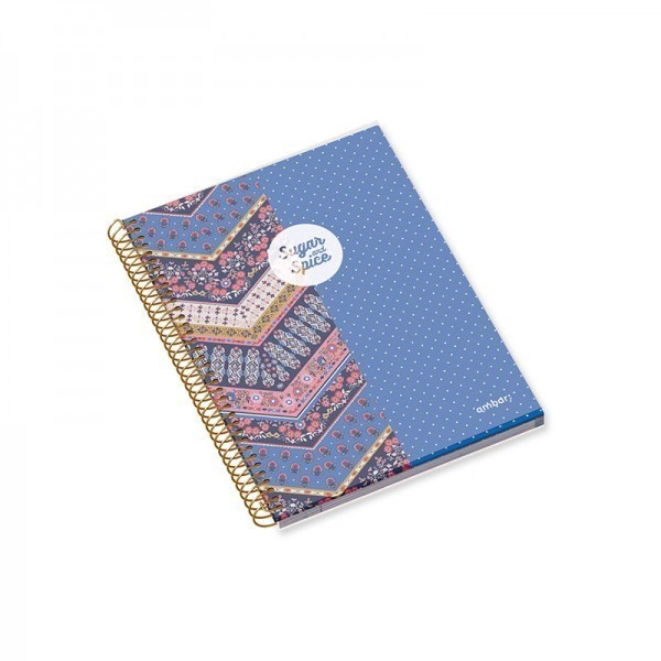 A4 PP Cover Sp Bk 100sh S&S Lin