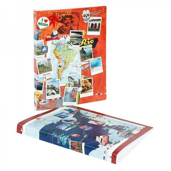 PROJECT RING BINDER  A4 VOYAGES
