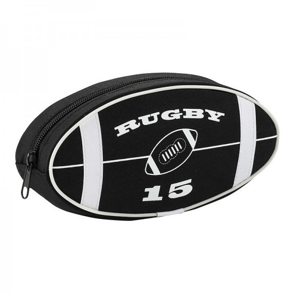 PENCIL CASE RUGBY BALL